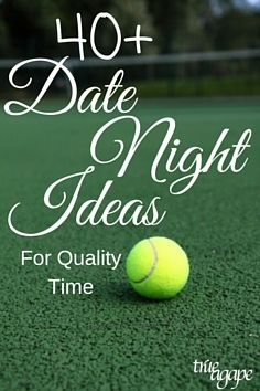 These 40+ date ideas help facilitate quality time together that both of you will enjoy. Instead of feeling like one of you is sacrificing. Enjoy some of these new dates