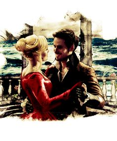 Once Upon a Time | Captain Swan Fan Art ♡