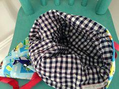 Kid's cotton drawstring kit bag by bagsbuntingbitsnbobs on Etsy