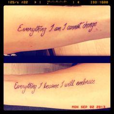 My new tattoos