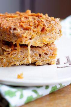 Sweet Potato Homemade protein bars. #postworkout #nutrition