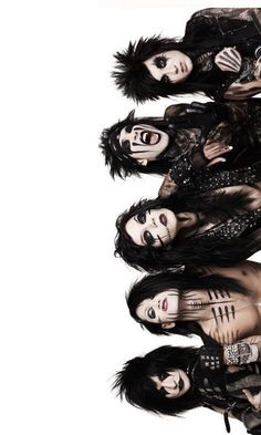 Black Veil Brides Since my mom probably wont buy me posters im gonna print pictures and put them on my wall ;-;