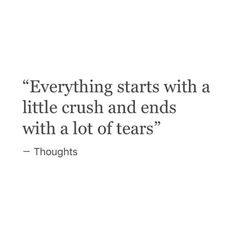 """Top 25 Emotional Quotes For Crush – Ford Memes The mark of a true crush… is that you fall in love first and grope for acumen eventually.Read out these """"Top 25 Emotional Quotes For Crush"""". Top 25 Emotional Quotes For Crush Top… Sad Crush Quotes, Hurt Quotes, Sad Love Quotes, Real Quotes, Mood Quotes, Life Quotes, Qoutes, Hopeless Crush Quotes, Sad Relationship Quotes"""