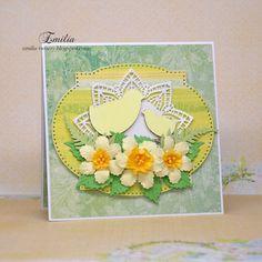 Kurczaczki/Kartka wielkanocna/Easter card