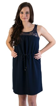 A perfect dress for your date night, upcoming event - Strolling in Lace Dress Comes in three colours