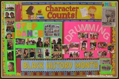 black history month music bulletin board - Google Search