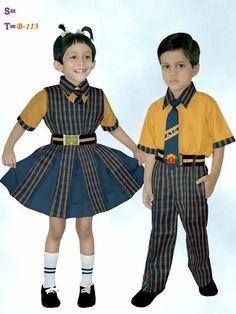 f54538ceb45 India Style School Uniform For Girls   Boys - Buy Girls School ...