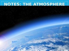 In this Power Point lecture (.pptx format), environmental science students are introduced to the basics of the atmosphere: what is it, what's it made of, why is there wind, how does pressure affect weather and climate, etc. Included in the presentation are hyperlinks to videos on YouTube that contain extra content related tot he concepts on the slide.