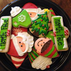 Santa Elf Christmas Cookies