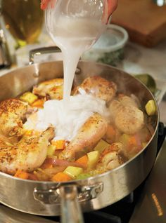 Colombo de poulet à la noix de coco Recettes | Ricardo