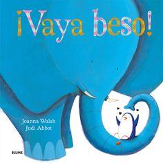 """""""¡vaya beso!"""" de johanna walsh-judi abbot. Con un texto irresistible e ilustraciones encantadoras para que los padres y los abuelos disfruten compartiendo toda una colección de páginas de afecto con los lectores más pequeños. Todos necesitamos besos... ¿Qué mejor que un libro lleno de besos? A las lombrices y demás bichitos, ¿les gusta darse besitos? ¿Y Los peces bajo el mar? ¡Seguro que saben besar! DE 3 A 6 AÑOS Signatura:  A BLU"""