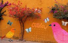 ƸӜƷ  Lets make October ridiculously Amazing ƸӜƷ Artwork by Gennine