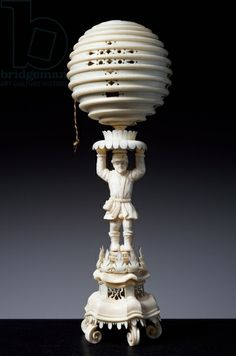 Cup, by Marcus Heiden (active 1618-died 1664), 1628, ivory De Agostini Picture Library / A. Dagli Orti / The Bridgeman Art Library