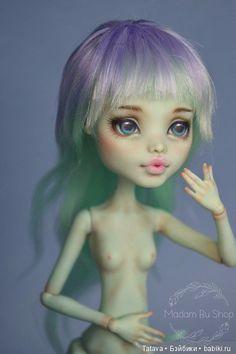 Кукольные парики от Мадам Бу, размер 5 (ОГ 13 см) / Игровые куклы / Шопик. Продать купить куклу / Бэйбики. Куклы фото. Одежда для кукол