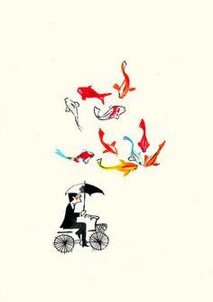 Editorial Illustrations by Luciano Lozano aka. Ilustrista | Abduzeedo Design Inspiration