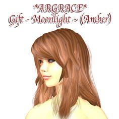 セカンドライフ(SecondLife/SL)の看板屋カエル隊ギャラリー&ネタ満載放浪ブログ *ARGRACE* Gift - Moonlight ~ (Amber)
