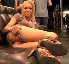 blonde teen showing pussy in public // Blonde, Teen (18+), Pussy, porn gif pics