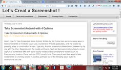 Let's Take a Screenshot !: Desktop Screenshot