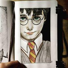 HarryPotter  #illustration #artwork #doodle #ink #fanart