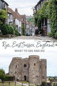 A guide to visiting Rye in East Sussex, England. What to see and do in Rye, East Sussex, with tips on the best things to see, do, eat and drink and where to stay for a perfect weekend break to Rye, East Sussex #Rye #EastSussex #England #weekendbreak Backpacking Ireland, Ireland Travel, Best Places To Travel, Cool Places To Visit, Visit Uk, Amazing Destinations, Holiday Destinations, Travel Destinations, Weekend Breaks