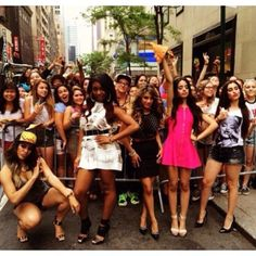 Fifth harmony and Fans