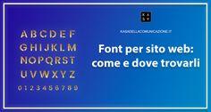 Cerchi un font per sito web ideale per il tuo progetto? Leggi Come e Dove scegliere i Font e la Lista dei Migliori Font.