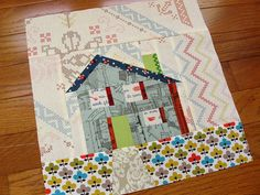 Kerry's house block by quirky granola girl, via Flickr