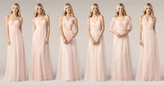 Convertible bridesmaid dresses Watters.com
