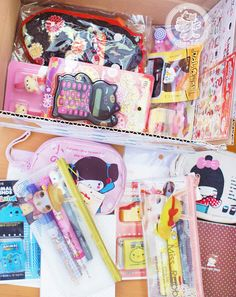 Commande kawaii de la boutique en ligne chezfee.com :D