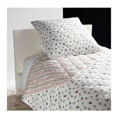 Ikea Emmie Blom 2pc Mini Quilt Set Bedspread Spring Rose Twin Girls Coverlet NEW #TextilesPlusInc #Cottage