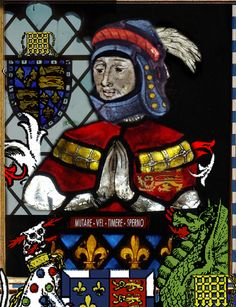 Sir John Beaufort, son of John of Gaunt and Katherine Swynford. He was the 1st Earl and Duke of Somerset.