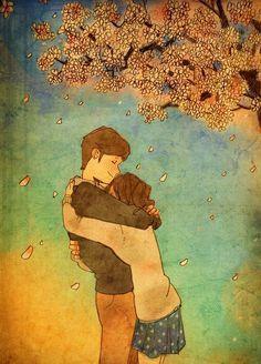 O abraço que mudou a minha vida...