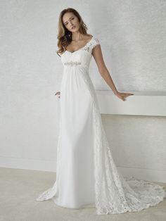 f5a817ca1d86 FIEL abito da sposa stile impero Abiti Da Sposa Firmati