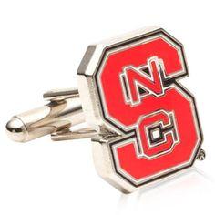 Nc State Wolfpack Cufflinks, NCAA College University Cufflinks from Cufflinksman