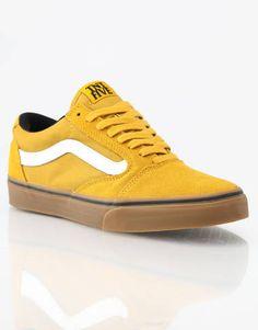 Vans TNT 5 Skate Chaussures - Moutarde Gum - RouteOne.co.uk