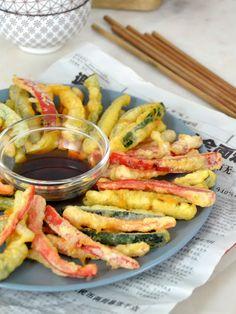 Tempura Vegetables, Veggies, Real Food Recipes, Healthy Recipes, Healthy Foods, Oriental Food, Exotic Food, Drinks Alcohol Recipes, Everyday Food