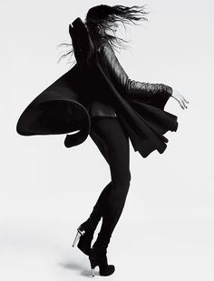 Rick Owens.  | macabre | high fashion | goth | editorial | dark fashion
