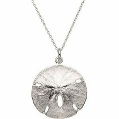 Genuine Ibiza (TM) 925 Sterling Silver 31 x 29 mm Sand Dollar Pendant - Approximately 7.50 grams. 100% Satisfaction Guaranteed. Ibiza. $59.95. Same Day Shipping.. .925 Sterling Silver.. 100% Satisfaction Guaranteed.. Genuine Ibiza Necklace.. Save 59%!