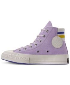 4548bc89d1d9 Converse Women s Chuck Taylor All Star 70 High Top Casual Sneakers from Finish  Line - Purple