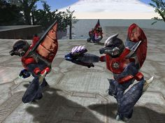 Image of Covenant Grunt (Grunt Major armor variants from Halo: Combat Evolved) - Giant Bomb