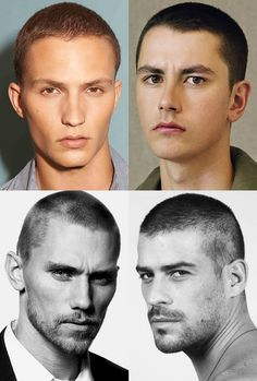 Men's Burr Buzz Cuts Hairstyles