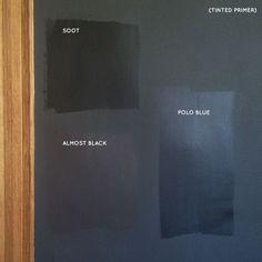 Black Paint Swatches #makingitlovely