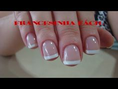 Celia Costa shared a video Acrylic Nails At Home, Manicure Y Pedicure, Healthy Beauty, Nail Polish, Make It Yourself, Super Bonder, Youtube, Instagram, Toenails Painted