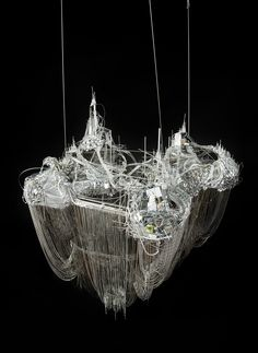 Lee Bul - After Bruno Taut (Devotion to Drift), 2013 Mixed media (170 × 145 × 130 cm) Studio Lee Bul, Art Fund, The New Art Gallery, Walsall, Bimingham Museums Trust and Ikon