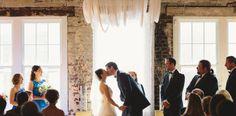 Ceremony at Stockroom Raleigh - Stockroom Wedding - Brett & Jessica Photography - NC Wedding Planner - Orangerie Events