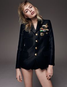 Women Style - (Staz Lindes Rocks Military-Inspired Jackets for...