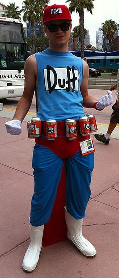 Duffman - Comic-Con 2012 Cosplay Gallery - Rotten Tomatoes
