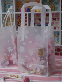 Translucent Floral Party Bag