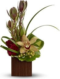 Tropical Flower Arrangements reception wedding flowers,  wedding decor, wedding flower centerpiece, wedding flower arrangement, add pic source on comment and we will update it. www.myfloweraffair.com can create this beautiful wedding flower look.                                                                                                                                                     More