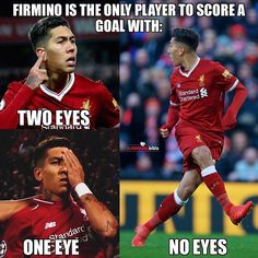 What a player!🔥 Seriously admire Bobby so much it's unreal The man was nearly permanently blind 3 days ago. Liverpool Memes, Liverpool Stadium, Camisa Liverpool, Gerrard Liverpool, Liverpool Anfield, Liverpool Champions League, Liverpool Players, Liverpool Football Club, Champs